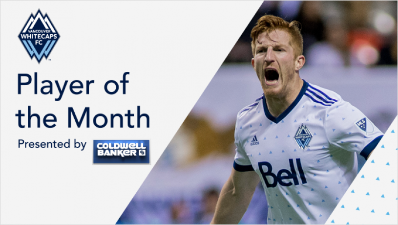 Parker voted Whitecaps FC Player of the Month